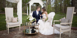 Outdoor wedding at The Wheeler House