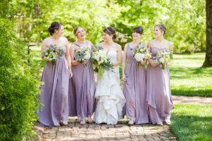 Bridesmaids at The Wheeler House