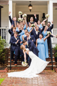 Bridal Party at The Wheeler House in Georgia