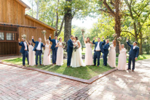 Bridal party at The Wheeler House