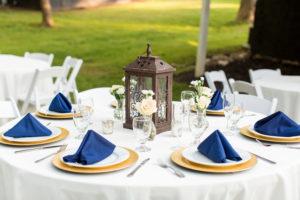 The Wheeler House Wedding Place Setting